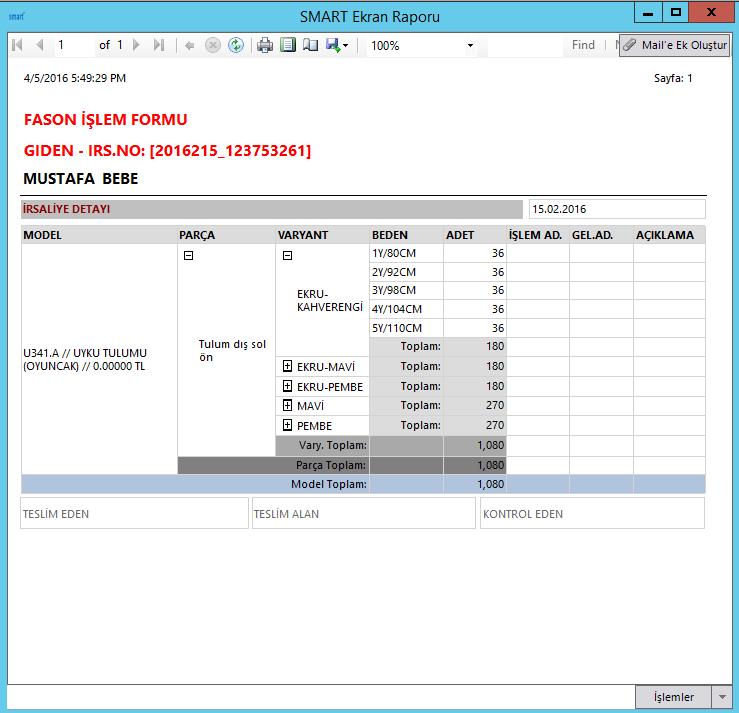 SmartPlus Üretim Sistemi Üretim Süreçleriniz İçin Tek Çözüm Parça İşçilik 1