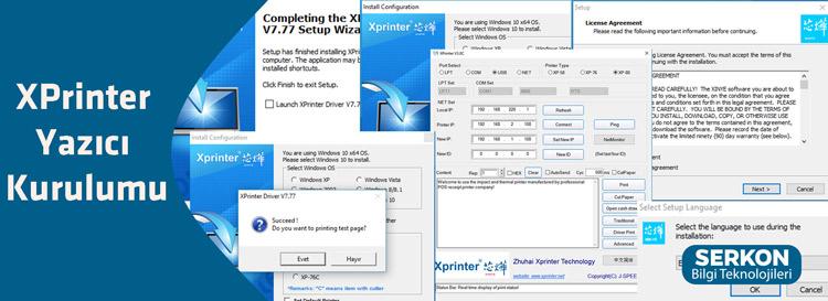 XPrinter Yazıcı Kurulumu